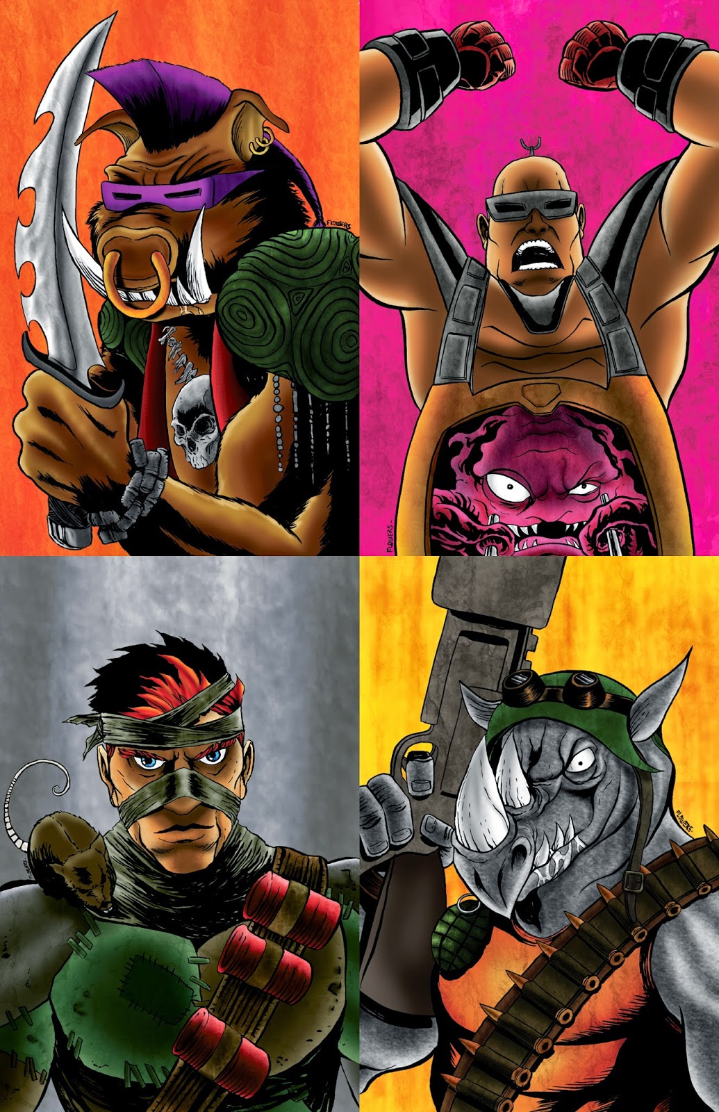 the art of jason flowers new limited tmnt villains set only 50