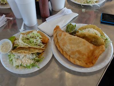 Nana Dora's (Brawley, California) Tacos and Special Quesadilla
