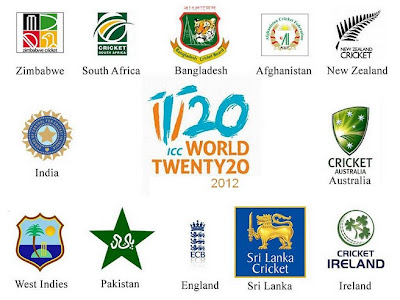 ICC T20 World Cup 2012 Teams List
