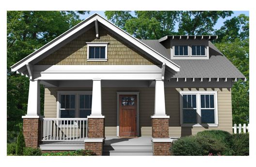 Related for Modern Bungalow House Plans By houseplans.com :