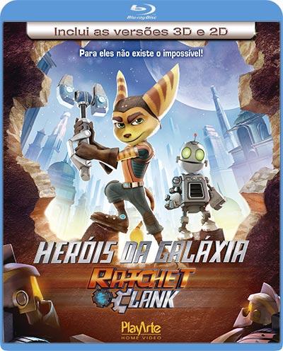 Filme Poster Heróis da Galáxia: Ratchet e Clank