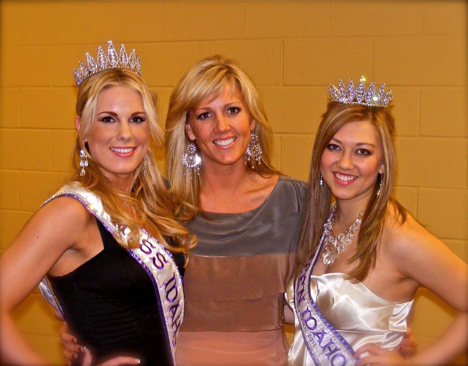 and Julia Jaquin, Miss Teen Idaho Intl. 2011