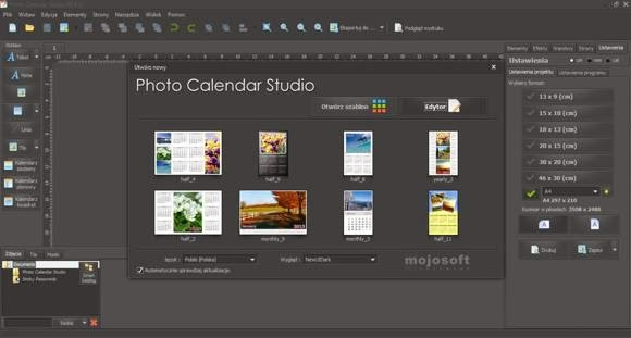 Mojosoft Photo Calendar Studio 2014