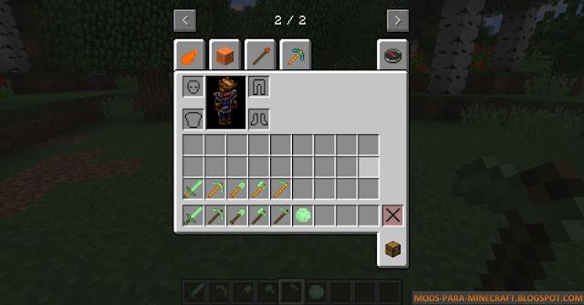 Las herramientas/armas del mieneral Perilot