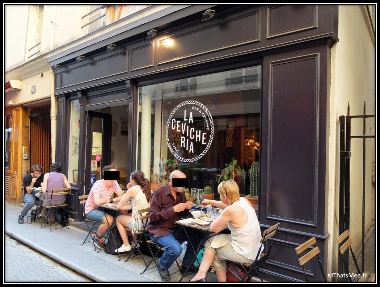 resto cevicheria Poisson cru Paris Montorgueil rue Marie-Stuart