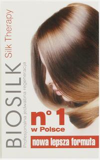 Jedwab do włosów Biosilk