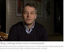 Juror, Michał Żebrowski, o blogu