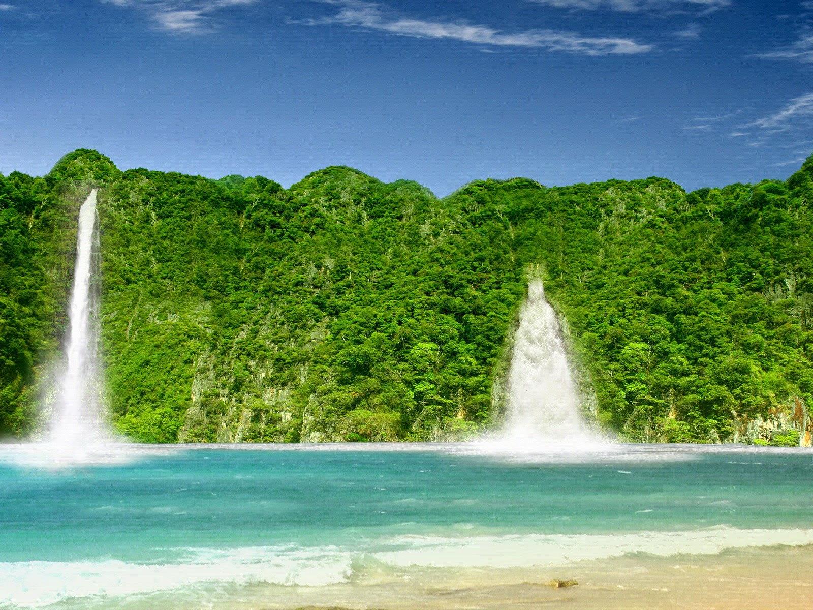 hình nền thác nước đẹp nhất