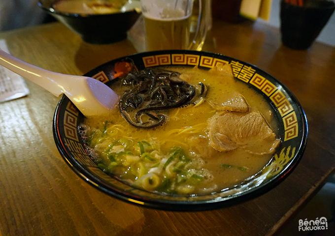 Tonkotsu ramens / 豚骨ラーメン