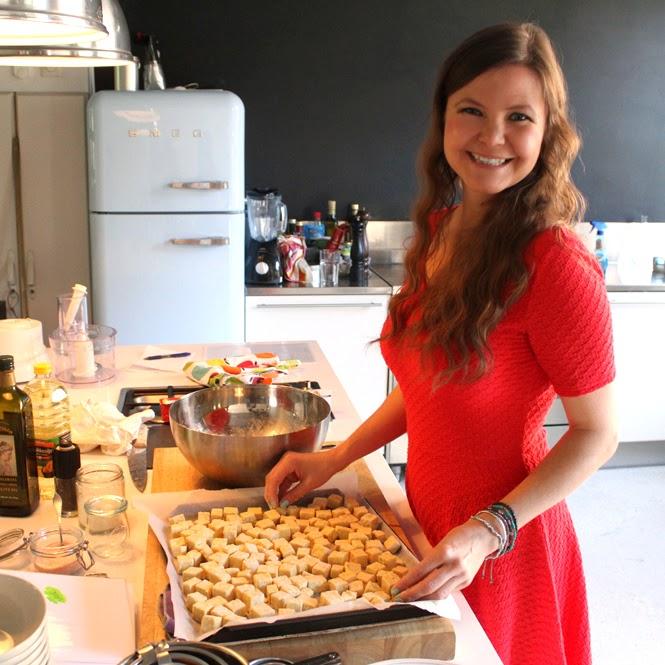 Oppskrift Friterte Tofuterninger Jane H. Johansen Veganmisjonen Hvordan Tilberede Tofu Sunn Snacks
