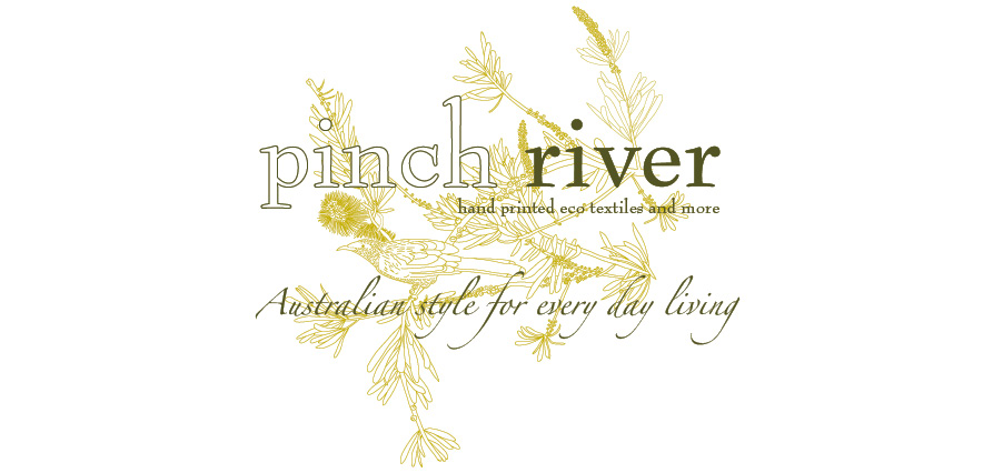 Pinch River - hand printed eco textiles and more...