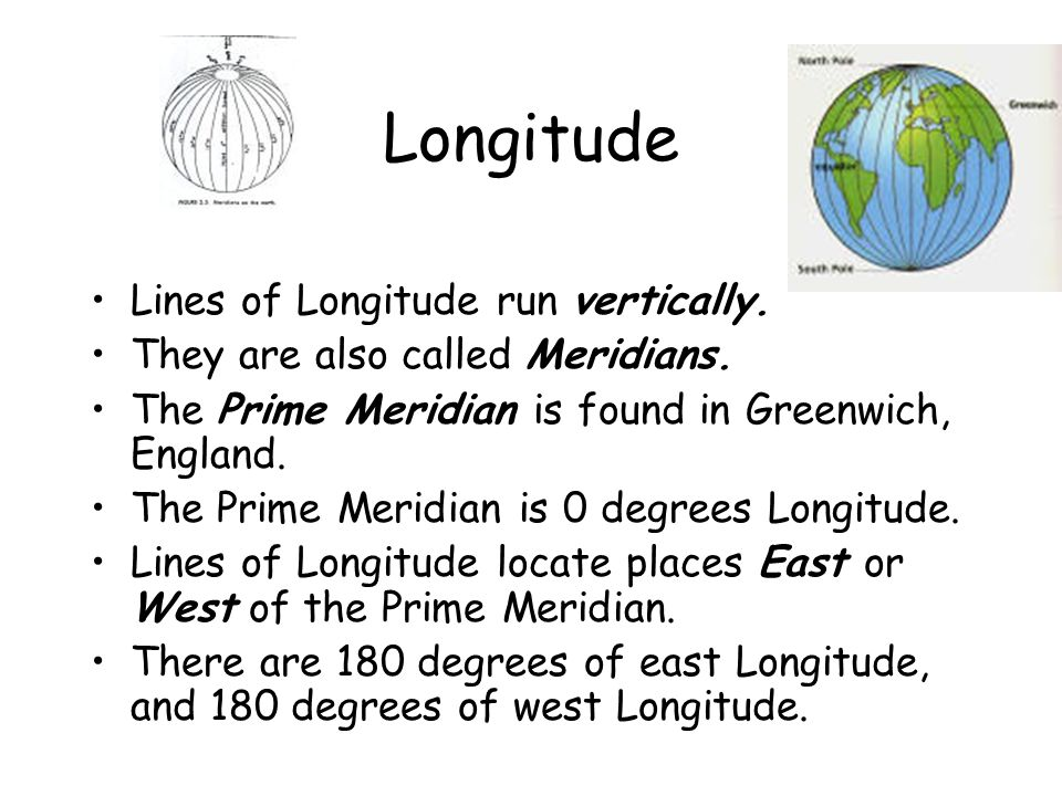 What is 0 degrees longitude called?