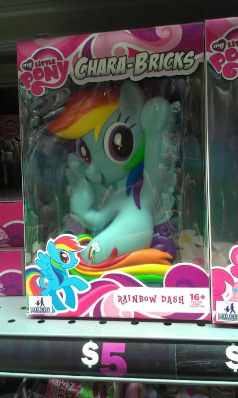 MLP Chara-Brick Rainbow Dash