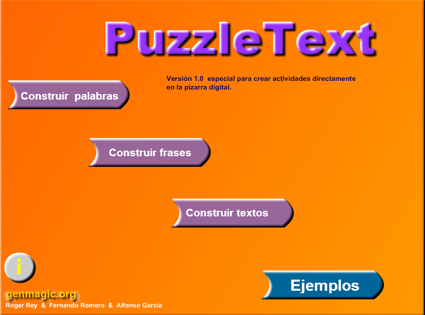 http://www.genmagic.org/puzzle_text/puzzle_text.swf
