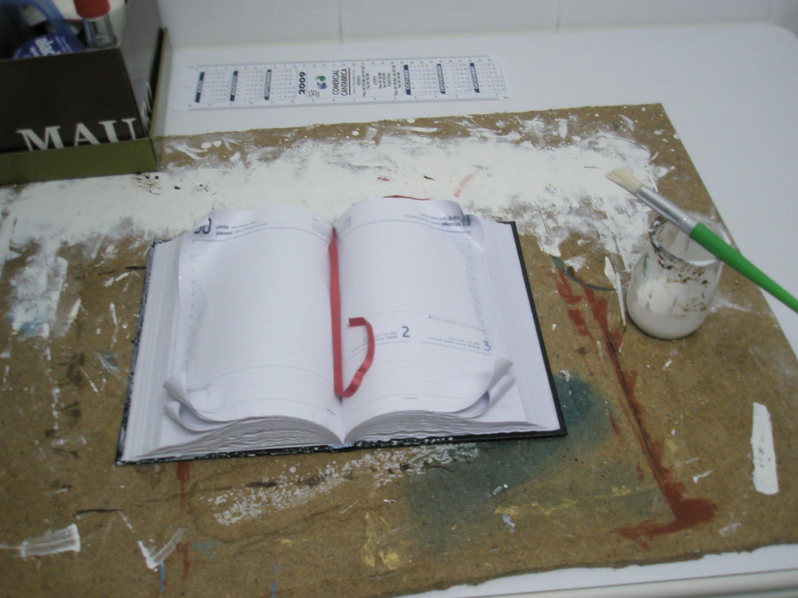 El cajon de manualidades libro antiguo paso a paso - Como hacer un libro antiguo ...