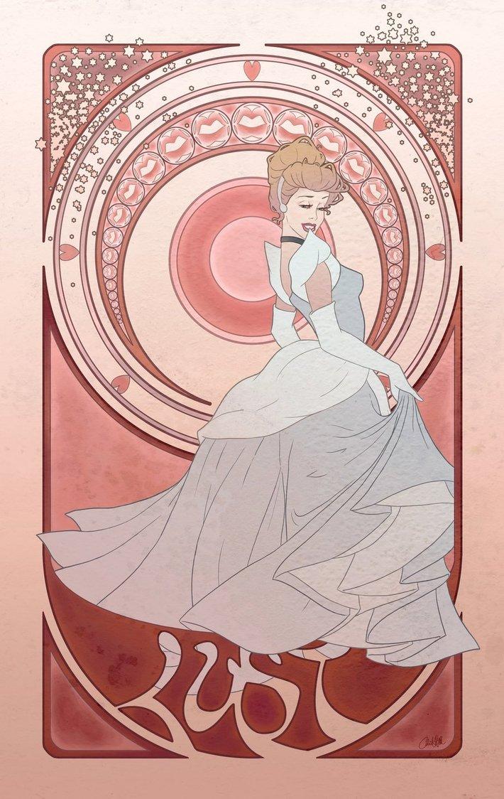 Chill07. Las 7 Pecados Capitales y las princesas Disney