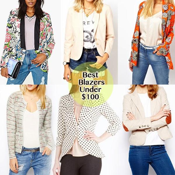 best blazers under 100 dollars