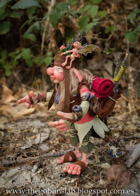 fantasy creature artdoll traveller goblin Elda Moonsteps