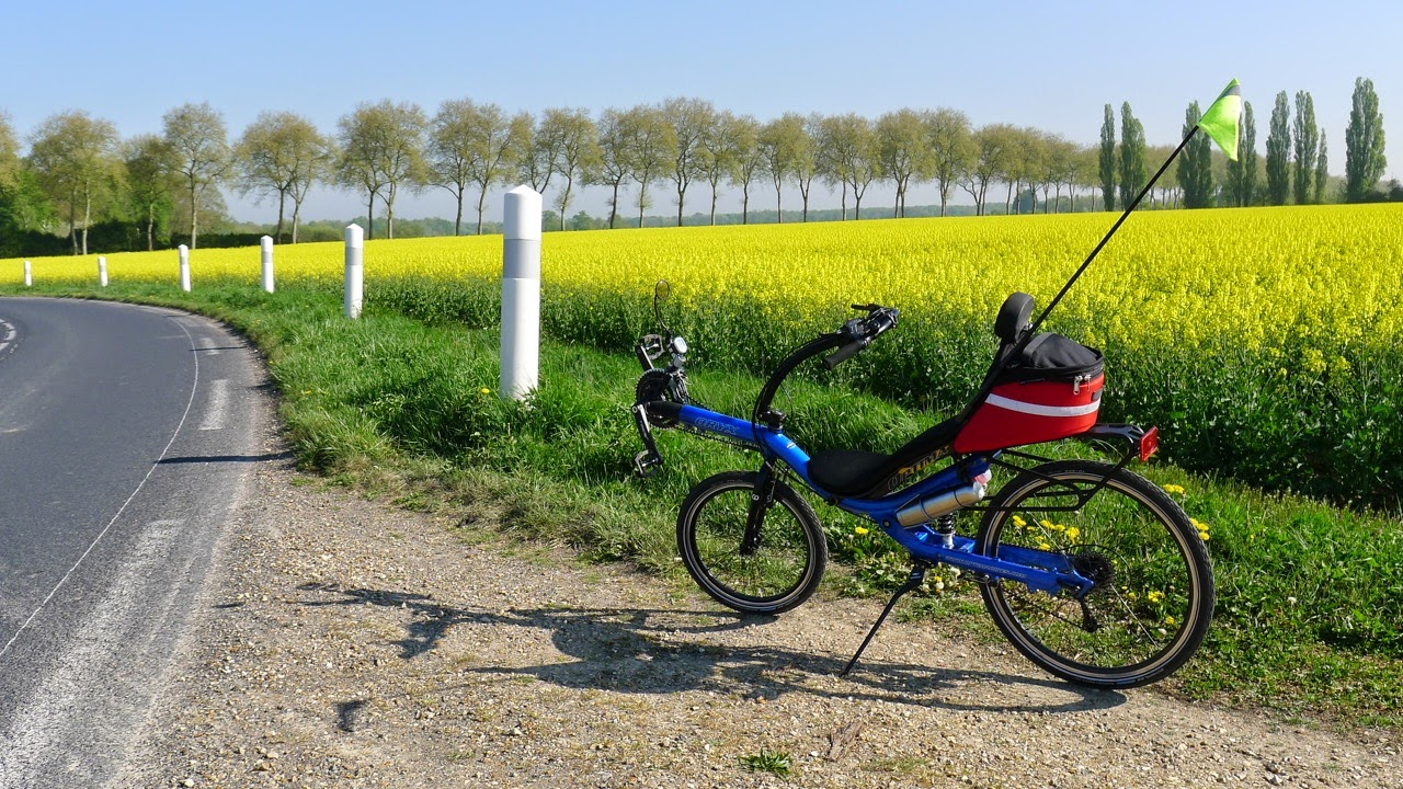 Randonnée en vélo couché