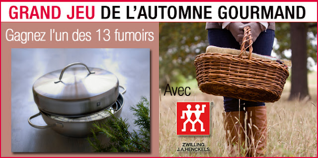 13 fumoirs cuisine Zwilling à gagner