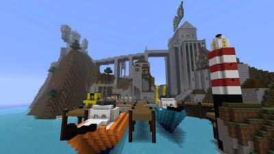 minecraft docks