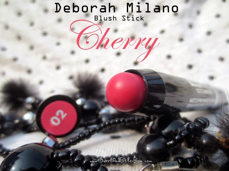 Deborah Milano Blush Stick Oriental Whisper Collection 02 Cherry Review
