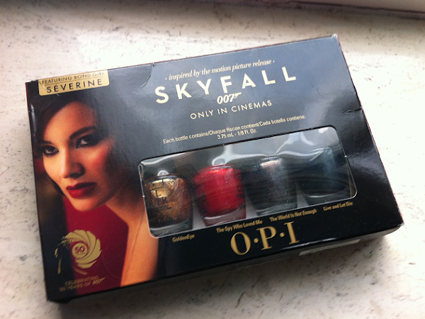 OPI Skyfall collectie.