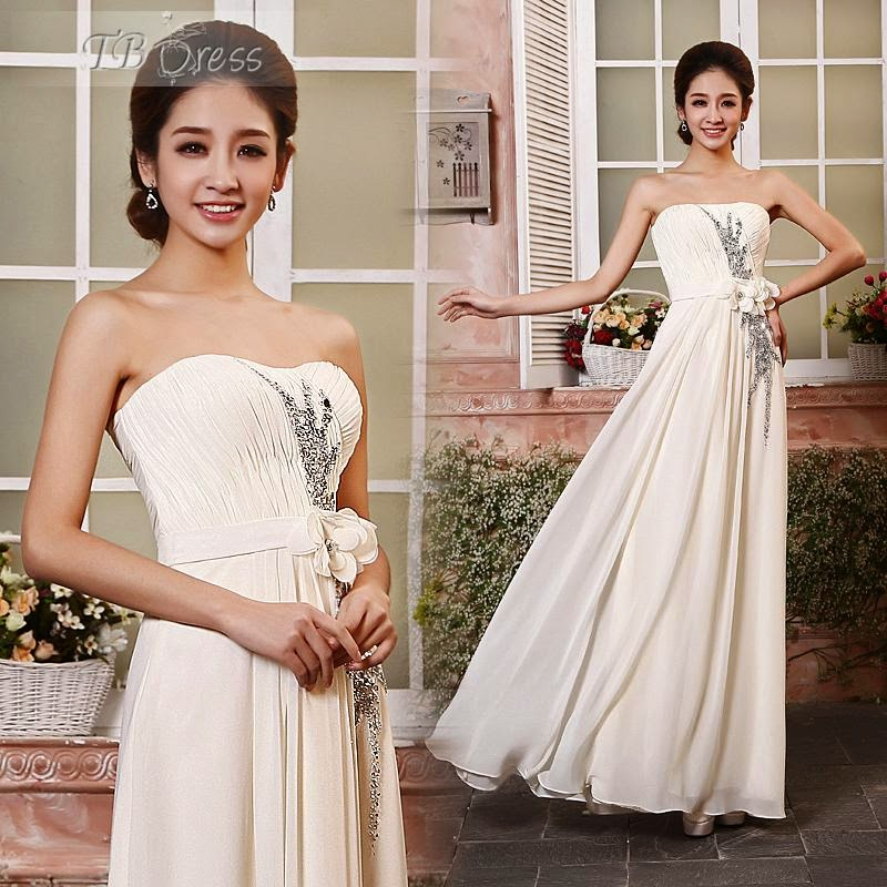 A-Line Floor Length Sweatheart Prom Dresses