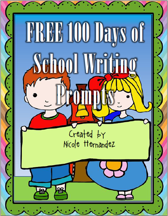 http://www.teacherspayteachers.com/Product/FREE-100-Days-of-School-Writing-Prompts-If-I-Had-1064031
