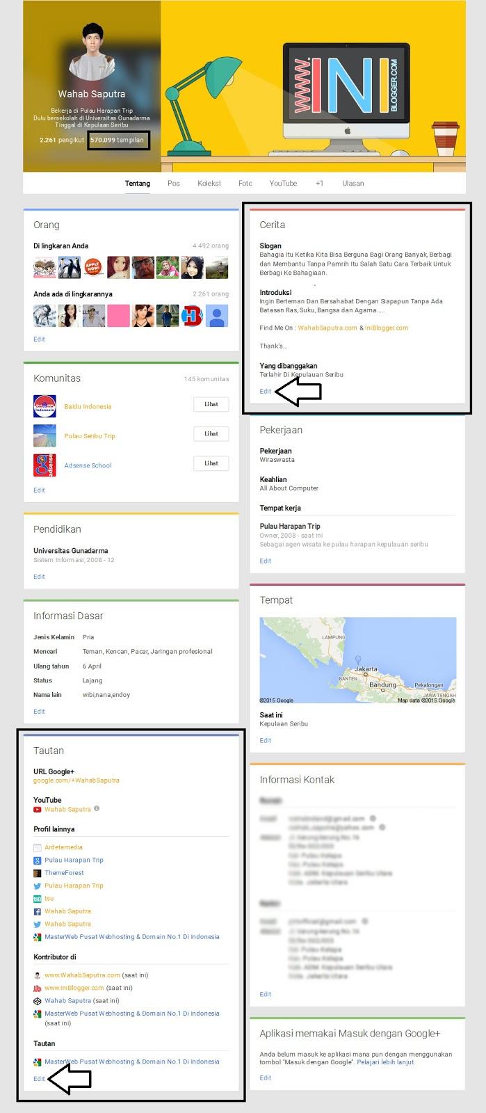 Cara Mendapatkan Backlinks Dofollow Gratis Dari Google Plus