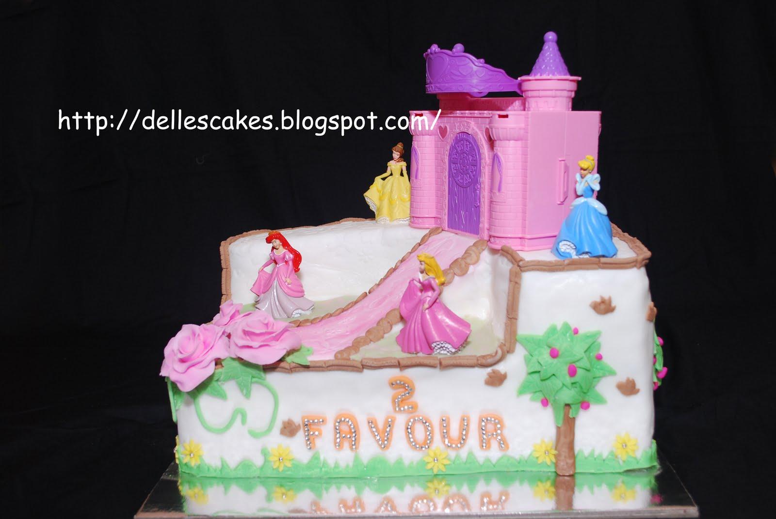 All To The Glory Of God Birthday Cake Princess Disney Castle