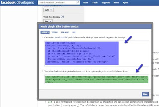 Button Facebook Like Valid HTML 5