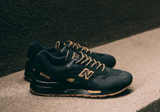 buy popular 92d61 36f75 Got My Sneakers: The New Balance 1600 in Black/Gum