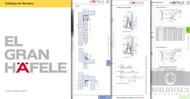 El Gran Hafele - Catálogo de Herrajes [2013]