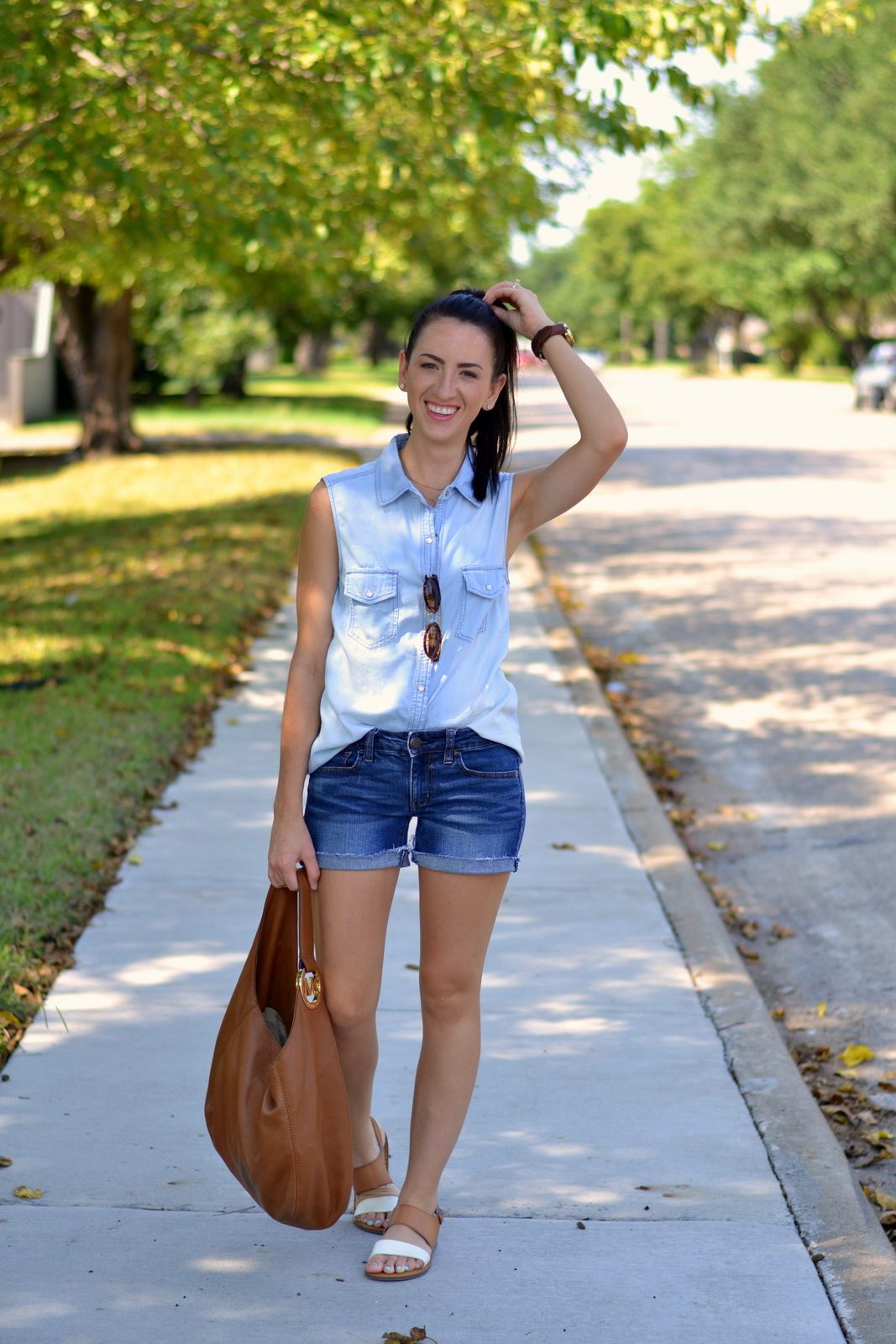 All Denim Summer Outfit