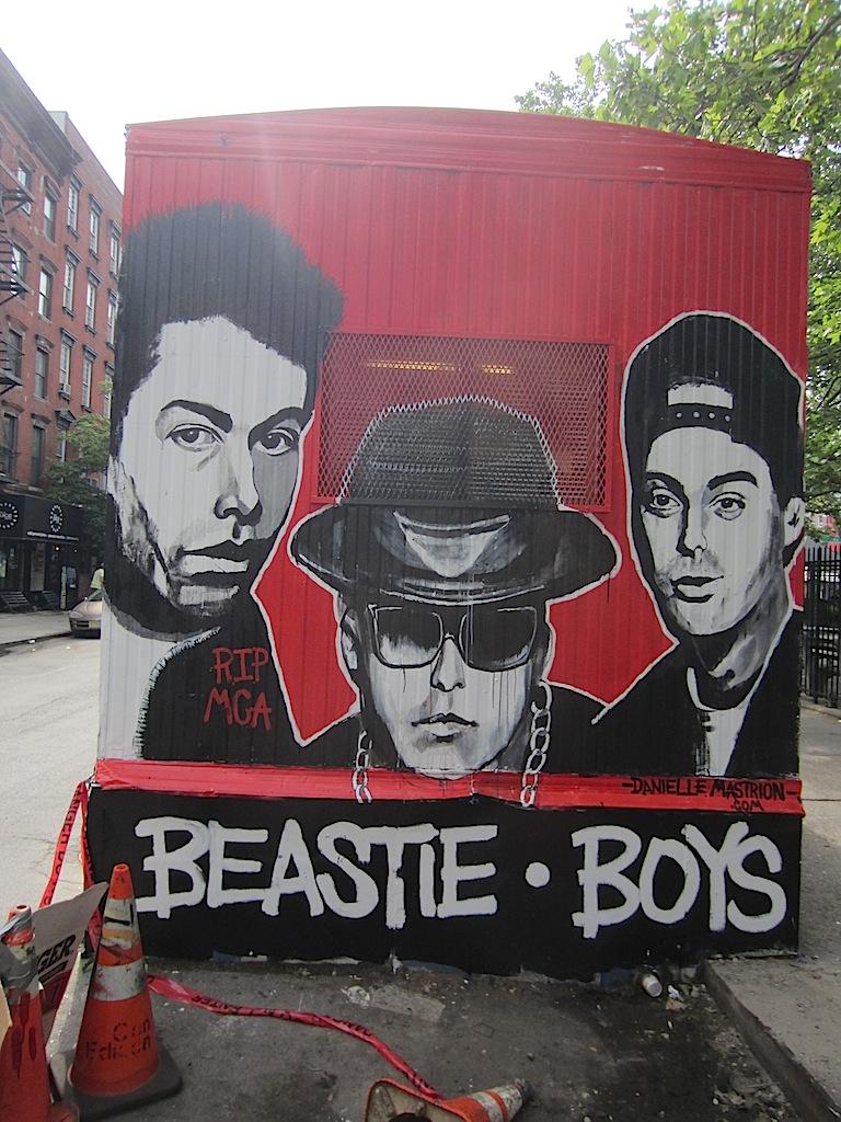 Ev grieve adam yauch of the beastie boys died 1 year ago for Beastie boys mural