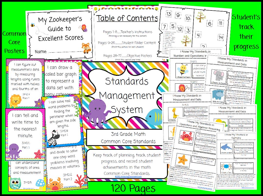 4th Grade Math Common Core Standards