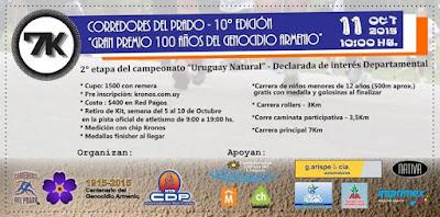 7k - 3,5k y 3k rollers Corredores del Prado (11/oct/2015)