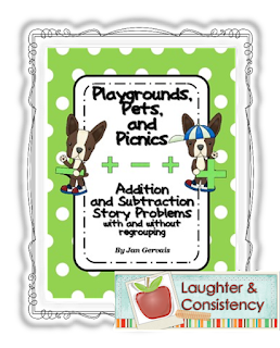 https://www.teacherspayteachers.com/Product/Playgrounds-Pets-and-Picnics-Addition-and-Subtraction-Story-Problems-712974