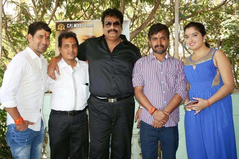 Sujit Tiwari, Dinesh Lal Yadav and ameapali dubey at Bhojpuri New Movie 2015 'Mokama 0 KM'  wallpaper download