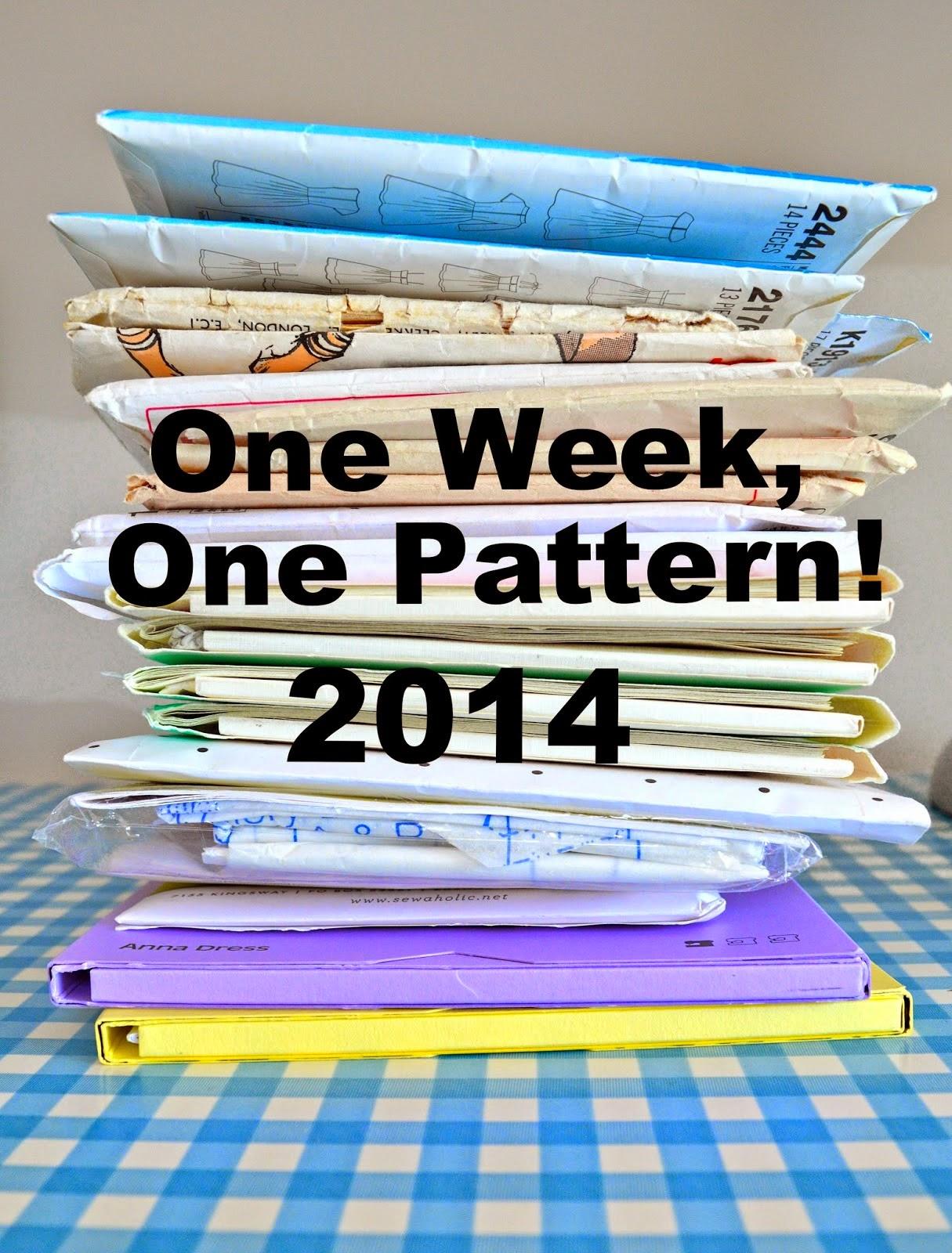 One Week One Pattern 2014