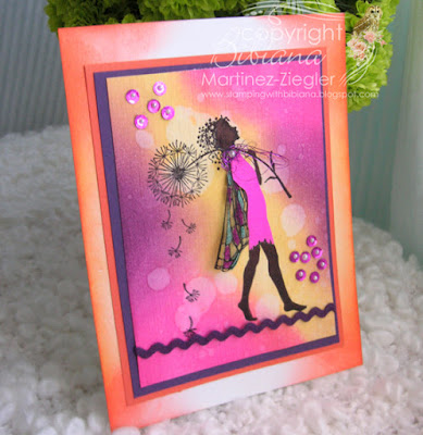 lavinia bright colors distress inks make a wish stamp front