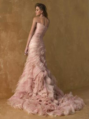 Pink Champagne Wedding Dresses