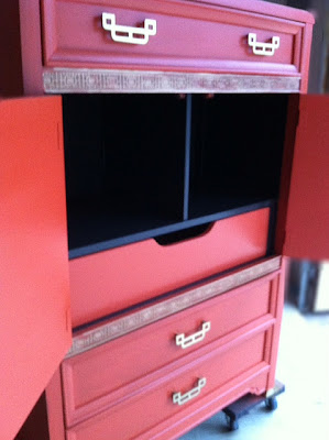 Painted Henry Link Armoire