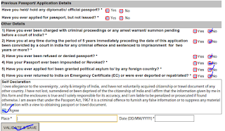 Step 5: How to fill offline form for passport image