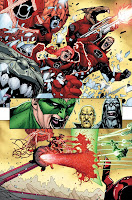 Lights Out Part 4 lands the Green Lantern corp on the planet Ysmault