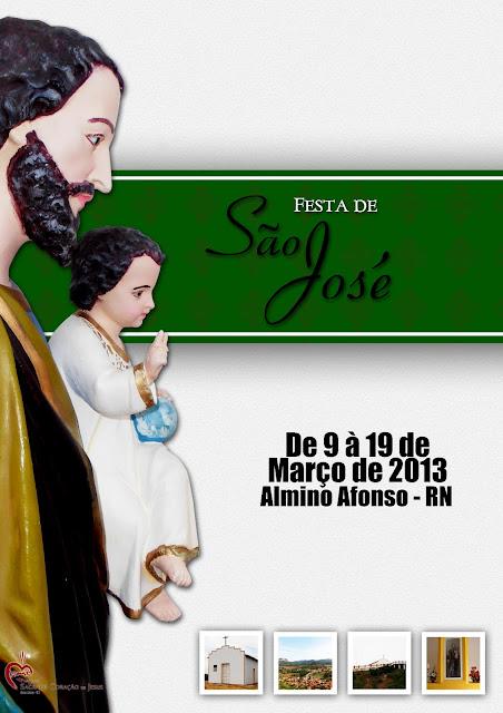 Festa de São José em Almino Afonso