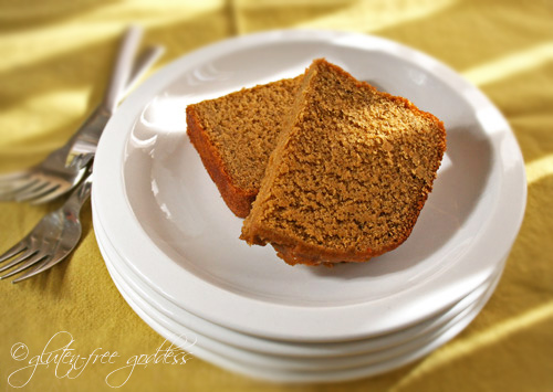 Gluten-Free Goddess® Recipes: Gluten-Free Pumpkin Pie Bread