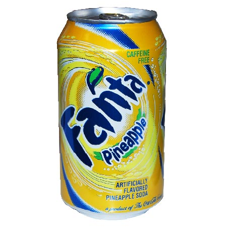 Pictures Blog: Pineapple Fanta