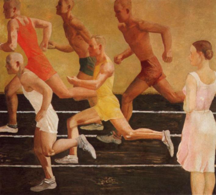 Exposición en Fundación Juan March del pintor Soviético Alexander Deineka, La Vanguardia del Proletariado AleksandrDeineka3